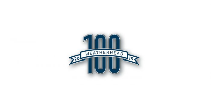 Weatherhead 100 2019 logo