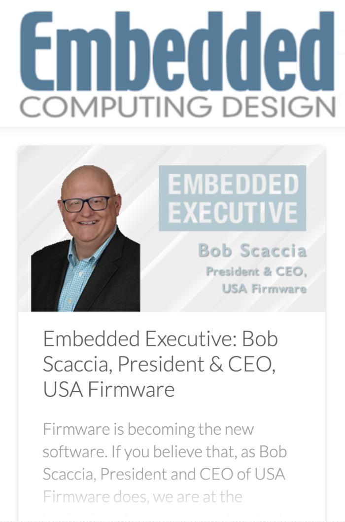 Bob Scaccia Embedded Computing Design