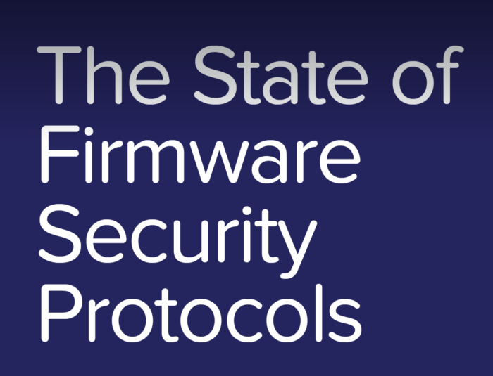 State of Firmware Security